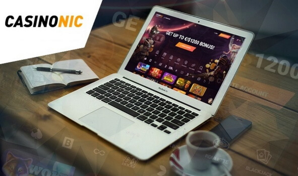 Online gambling at Casinonic casino